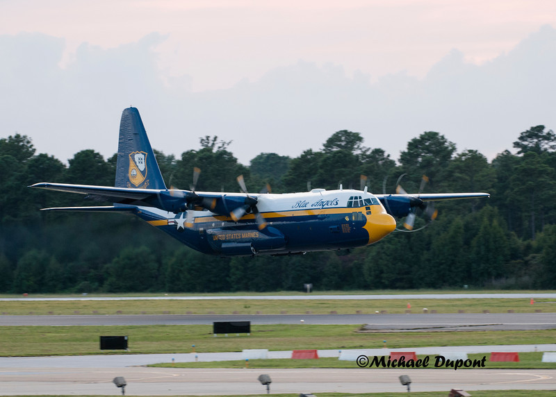 Fat Albert C-130 support plane for Blue Angles