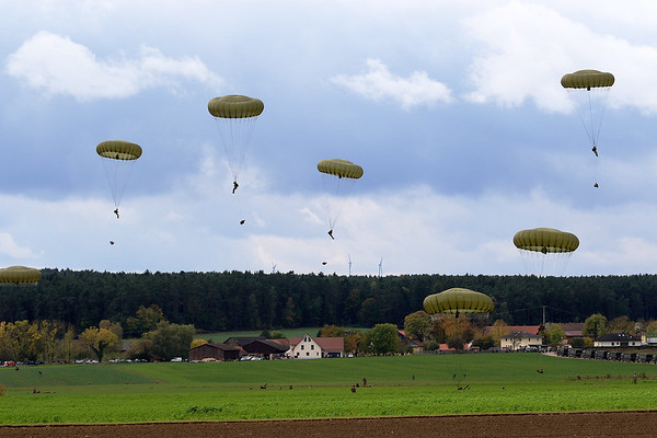 NATO Exercise Swift Response 2017-2 - Joint Multinational Readiness Center JMRC Hohenfels, October 2nd to 20th, 2017.