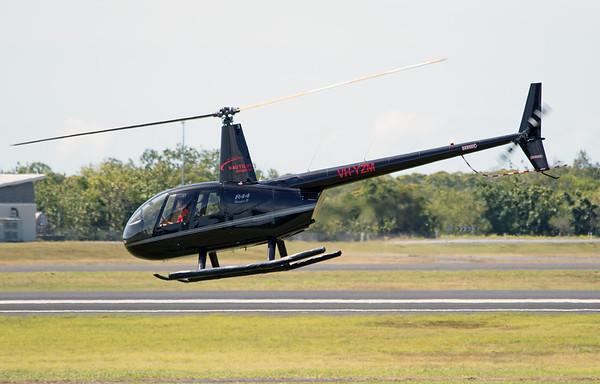 VH-YZM NAUTILUS AVIATION R-44