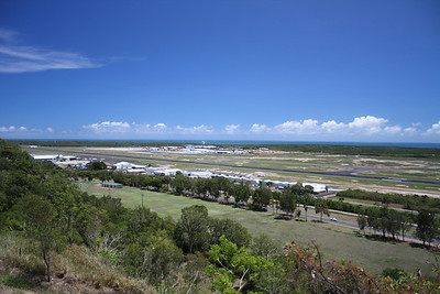 CAIRNS AIRPORT FROM THE LOOK OUT