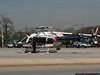 """NCPD's newest helicopter, """"Nassau 5"""" at the Oyster Bay LIRR station parking lot on a Medevac mission."""