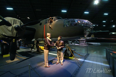 Doolittle B-25 replica. None of the original raiders aircraft exist today. See  http://www.2worldwar2.com/doolittle-raid.htm