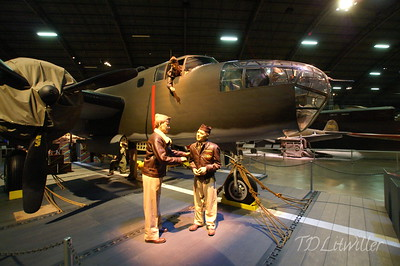 Doolittle B-25 replica. None of the original raiders aircraft exist today.