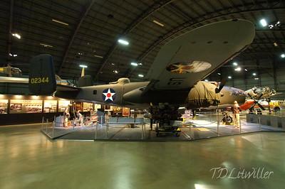 Doolittle B-25 replica. None of the original raiders aircraft exist today. see  http://www.2worldwar2.com/doolittle-raid.htm