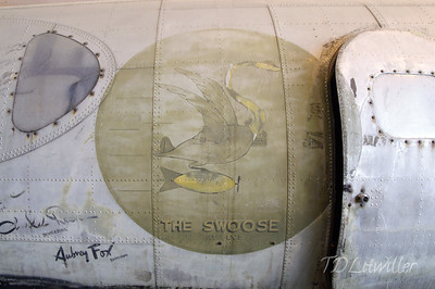 B-17 The Swoose artwork.