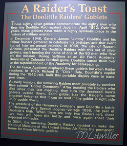 Doolittle Raiders toast. See  http://www.2worldwar2.com/doolittle-raid.htm