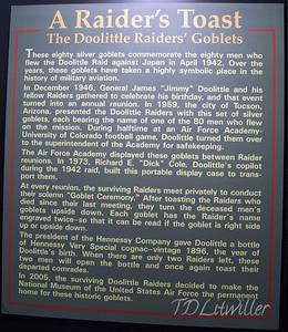 Doolittle Raiders toast. See  http://www.2worldwar2.com/doolittle-raid.htm