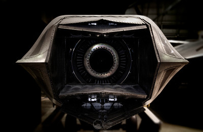 The production version of this Pratt & Whitney YF119-PW-100L Augmented Turbofan engine now powers the F-22 advanced tactical fighter.  It allows for supersonic cruising without the use of an afterburner and contains 40% fewer parts that its predecessors to reduce maintenance.