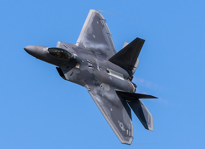 F-22 Raptor from First Fighter Wing , Langley, VA