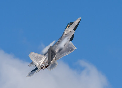 F-22 Raptor from First Fighter Wing in Langley, VA