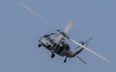 MH-60S Seahawk helicopter from HSC-7, Norfolk, VA