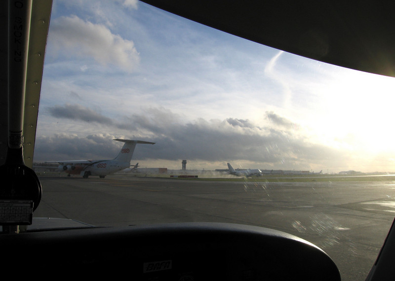 How often do you see this as a solo student VFR pilot? Great.