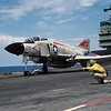 F-4J launching from the USS Saratoga CV60