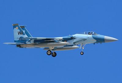 USA - Air Force   80-0010 McDonnell Douglas F-15C Eagle MSN: 646/C159 Las Vegas - Nellis AFB (LSV / KLSV) Nevada, USA - January 25, 2007