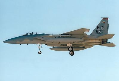 USA - Air Force REG: 82-0013 McDonnell Douglas F-15C Eagle MSN: 825/C244 Las Vegas - Nellis AFB (LSV / KLSV) Nevada, USA - November 3, 2004