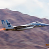 F-15 Eagle afterburners @ Nellis AFB.  Las Vegas, Nevada