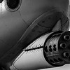 The business end of an A-10 Thunderbolt (Warthog)