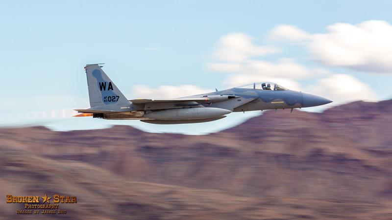 F-15 Eagle fly-by @ Nellis AFB.  Las Vegas, Nevada