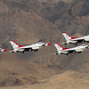 Thunderbirds F-16 Takeoff @ Nellis AFB.  Las Vegas, Nevada