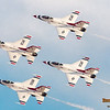 Thunderbirds F-16 Diamond Formation @ Nellis AFB.  Las Vegas, Nevada