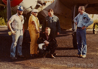 Black Bart, Andy Haden, Ari Tall, Claude Marcoux, Wayne McFadden about 1985