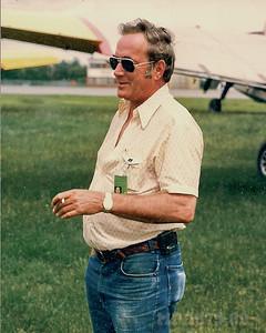 Radioman Bob Adams.