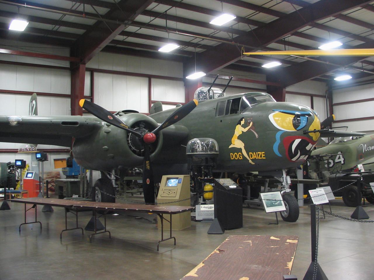 North American B-25H Mitchell bomber