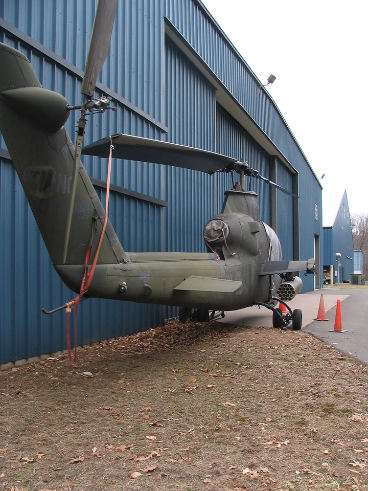 Bell Cobra attack helicopter