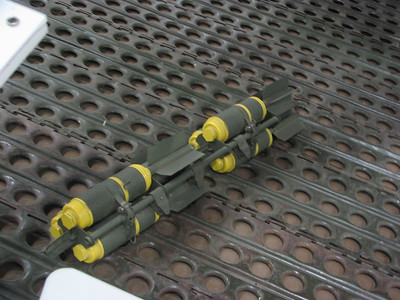 20-lb cluster bombs
