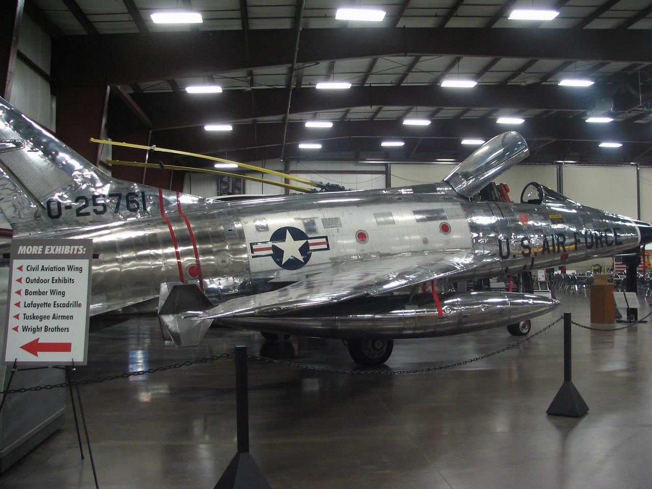 North American F-100A Super Sabre