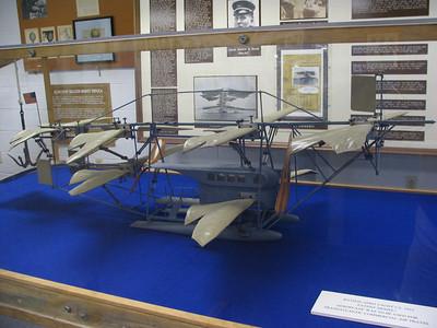 Batson Aero Yacht, c. 1912. This plane was designed as a trans-Atlantic aircraft.