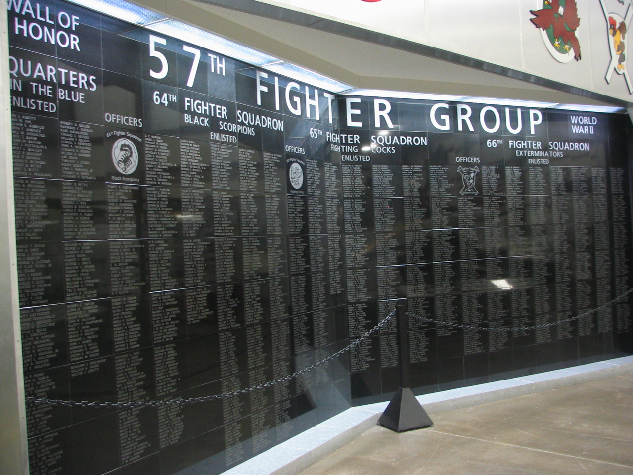 57th Fighter Group memorial