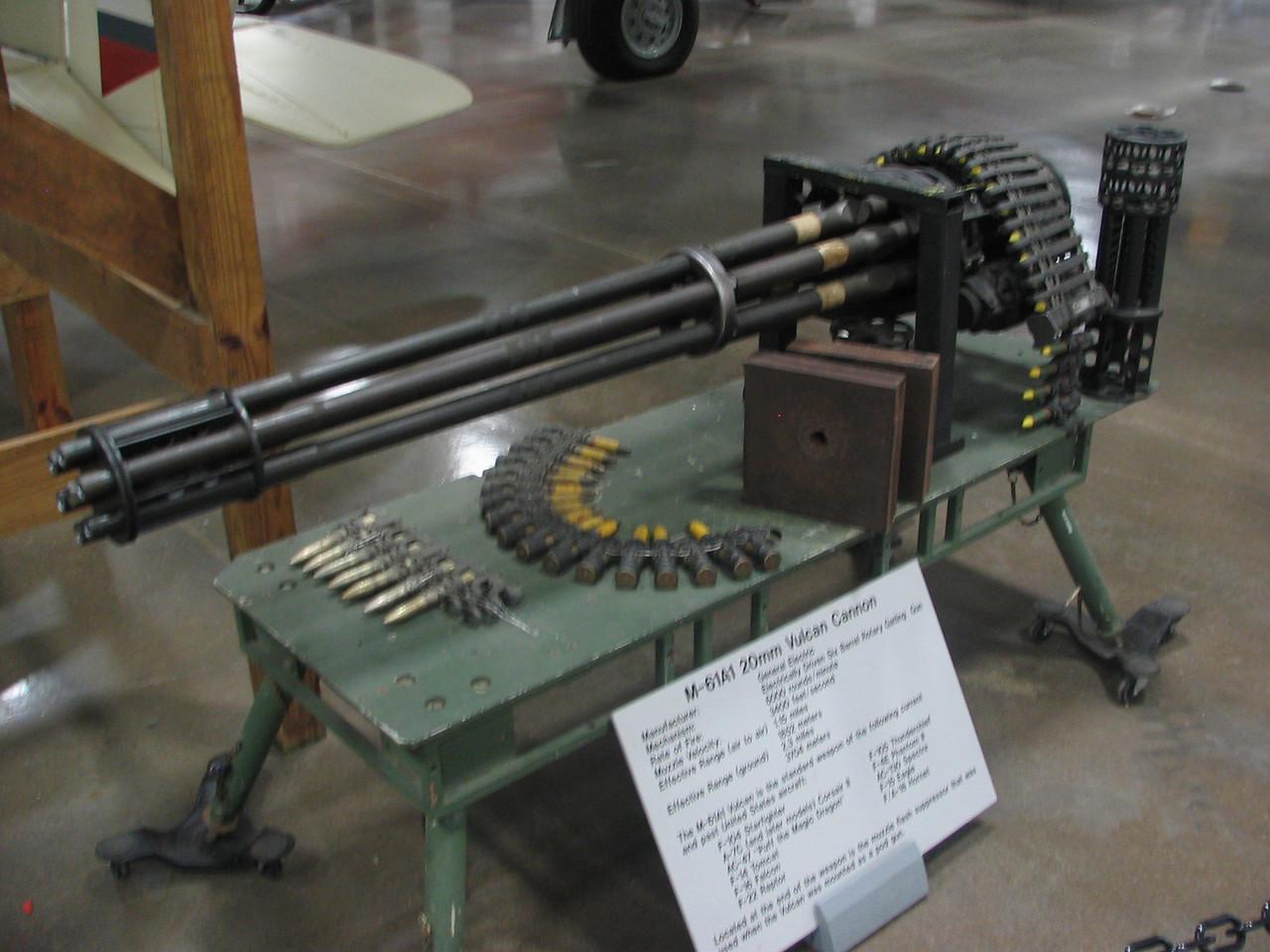 M-61A1 20mm Vulcan Cannon