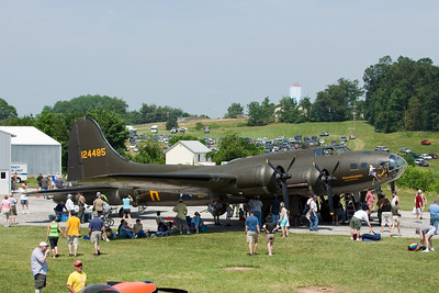 The 1st B-17 to complete 25 missions in WWII.