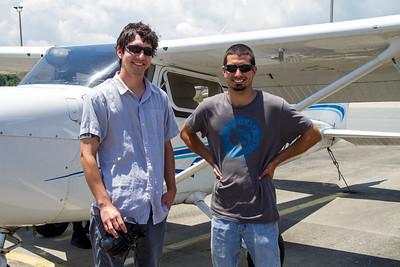Nick & Scott's First Flight