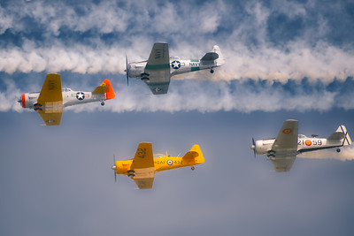 North American Aviation T-6 Texan - Oshkosh Air Show - Oshkosh, Wisconsin - Photo Taken: August 2, 2014