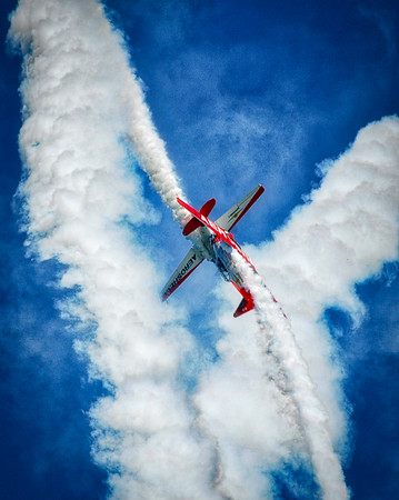 North American Aviation T-6 Texan - Aeroshell - Chicago Air & Water Show - Chicago, Illinois - Photo Taken: August 15, 2010