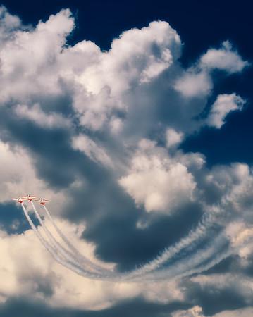 North American Aviation T-6 Texan - Aeroshell - Gary Air Show - Gary, Indiana - Photo Taken: July 10, 2010