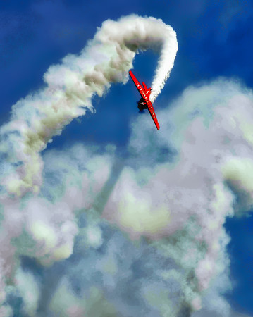 North American Aviation T-6 Texan - Aeroshell - Chicago Air & Water Show - Chicago, Illinois - Photo Taken: August 16, 2014
