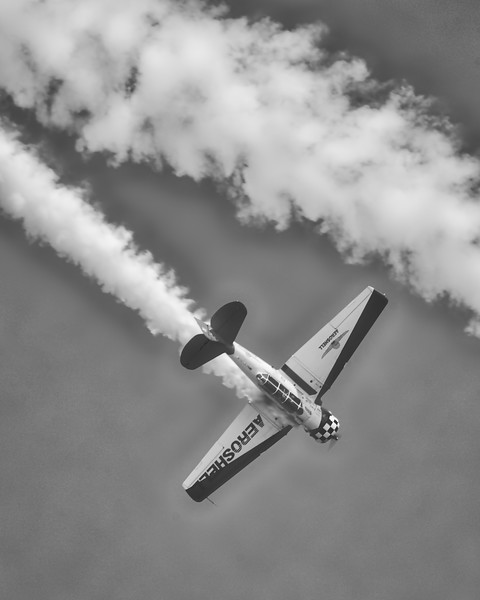 North American Aviation T-6 Texan - Aeroshell - Chicago Air & Water Show - Chicago, Illinois - Photo Taken: August 19, 2017
