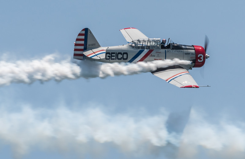 Geico Sky Typer #4 in their SNJ-Texan ( known as Harvard in India/UK)