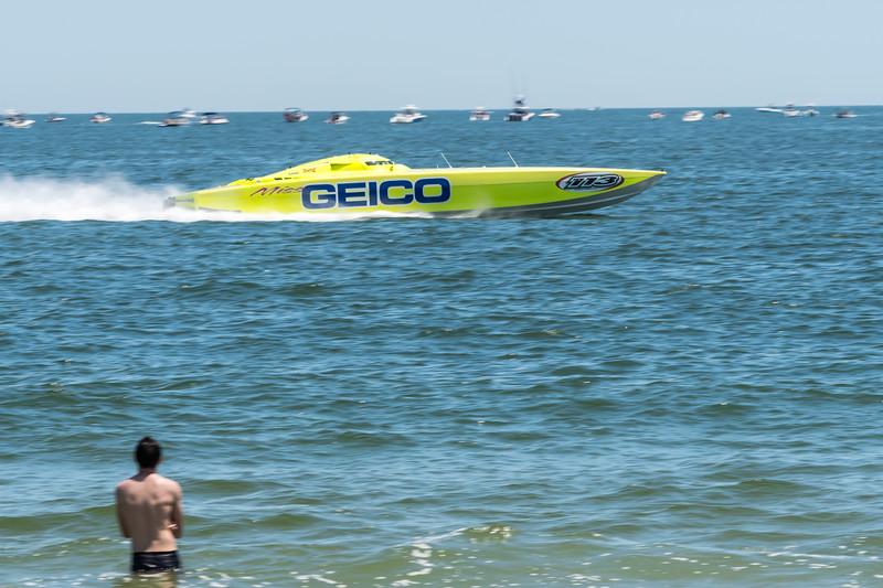 Geico Speedboat