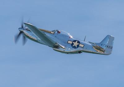 "WW2 P-51D Mustang ""QuikSilver"""
