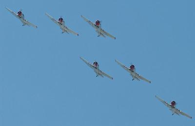 Geico SkyTypers in their SNJs