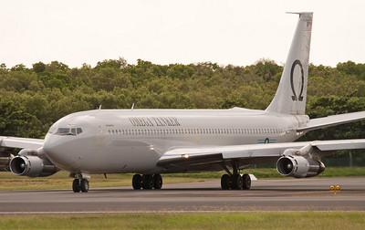 N707AR OMEGA AIR TANKERS B707