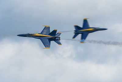 Blue Angels Opposing Solo and Lead Solo