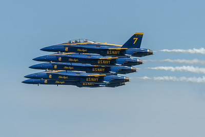 Blue Angels - Line Abreast formation