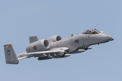 A-10C from Martin State Airport.