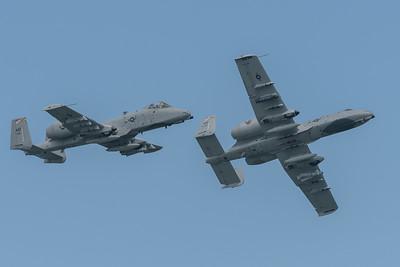 Pair of A-10C Warthogs
