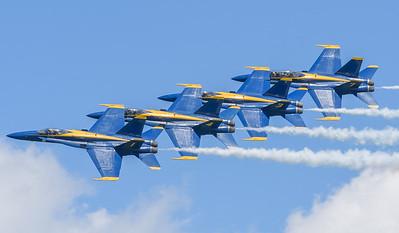 Navy Blue Angels - Echelon Parade Pass